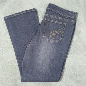 Coldwater Creek dark wash jeans
